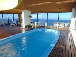 Mega Oferta Corais de Ponta Negra - Andar Alto 98m² 3Dorm 2Vagas - Completo Cond Clube