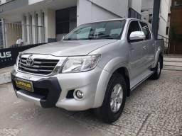 Toyota hilux 2014 2.7 srv 4x4 cd 16v flex 4p automático - 2014