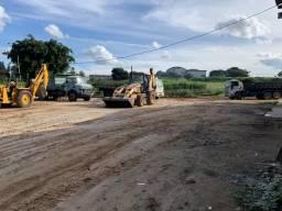 Terraplanagem, Limpeza de terrenos e transporte