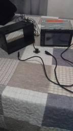 Vendo som Pioneer 2Din mixtrax, com câmera de ré