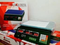 Balança digital de 40kg, segma, bi-volt, nova com garantia.