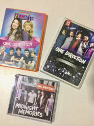 CD e DVDs One Direction