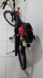 Bicicleta Motorizada a Gasolina 2 tempos.