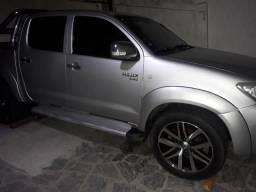 Hilux 2010 diesel 4x4 Motor 2.5 carro extra - 2010
