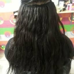 Mega hair promoção com aplicação