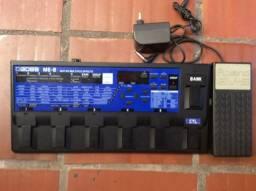 ME-8 Boss (Japan) + Pedal Expressão EV-5 Roland,parcelo no cartão e ML,avalio trocas