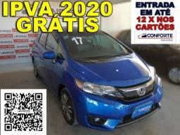 Honda fit 2017 1.5 exl 16v flex 4p automÁtico - 2017