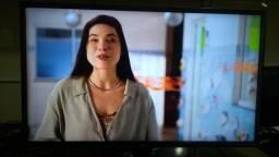 "Tv lg 40"" smart led semi nova é garantia 3x sem juros"
