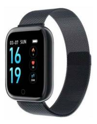 Relógio Smartwatch T80 Fitness Pressão Arterial