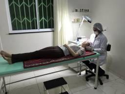 Sala para profissionais de saúde