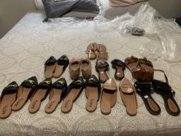 Kit com 10 sandálias