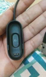 Carregador Miband 4 + pulseira