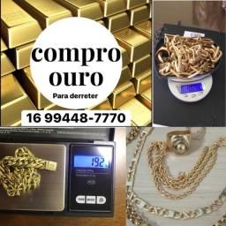 Ouro maciço 18k 750 (para derreter)