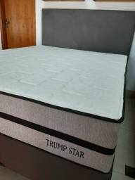 Cama box Queen Trump Star (158×198) molas ensacadas