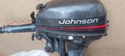 Motor Johnson 15hp ano 96