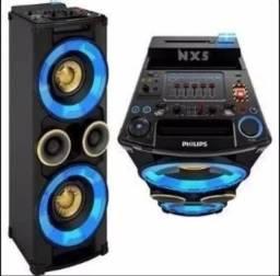 Caixa Bluetooth Philips Nitro Nx5 500W RMS (Com Defeito)