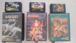 Lote jogos Mega Drive Jp