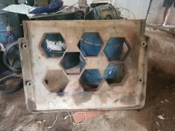 Forma para lajotas artefatos de cimento