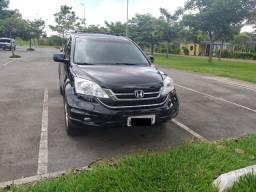 Honda cr-v exl 10/10 *com kit multimídia*