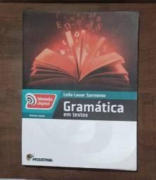 Livro - Gramática Em Textos - Leila Lauar