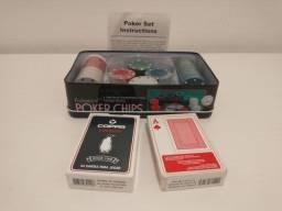 Fichas de poker + Cartas