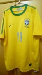 Camisa original do Brasil (amarela) 2010