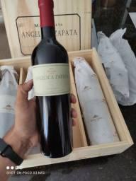 Vinho Argentino Angélica zapata Malbec 100%original