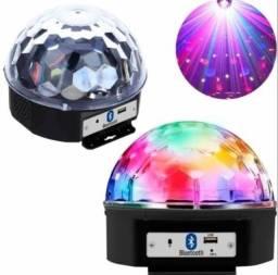 Globo Bola Maluca Led Magic Cristal Rgb Bluetooth Usb Y0851