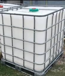 Ibc Container 1000 litros Tambores galão tonel bombona agua reservatório