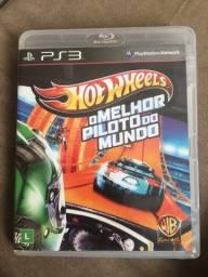Título do anúncio: Jogo Hotwheels PS3