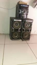 Sony duas caixas de som
