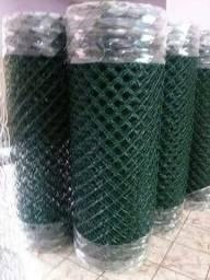 Alambrado Revestido em PVC Verde