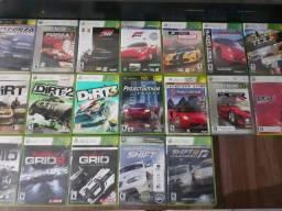 Coleção de jogos de corrida originais Xbox 360