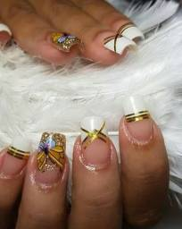 Unhas em Gel Nails Designer
