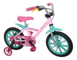 Bicicleta Bike Infantil Feminina Aro 14 First Pro - Nathor