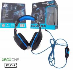 Headset Gamer ps4 xbox one Knup KP-451