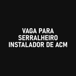 Serralheiro / ACM