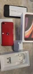 IPhone SE 2020 128GB na garantia até out/2021