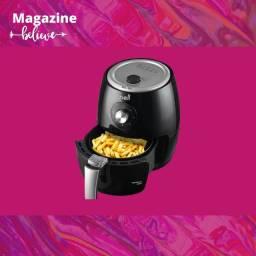 Fritadeira Elétrica sem Óleo/Air Fryer Nell Smart - Preta 2,4L com Timer<br><br>