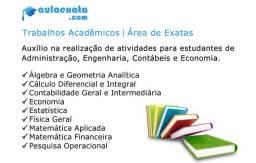 Trabalhos Acadêmicos - Área de Exatas