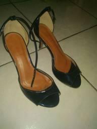 Sandália salto n 8