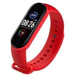 Relógio M5 Bluetooth 4.2 Smartband Monitor Pressão Arterial , 4 cores diferentes