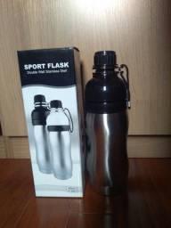 garrafa térmica esportiva inox 350ml