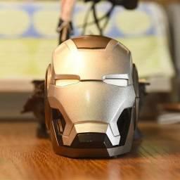 Caixa de som capacete homem de ferro - Até 12x Com Frete Grátis MG
