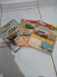 Revistas 4rodas antigas