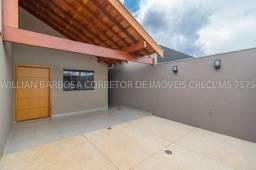 Casa moderna e com ótimo acabamento no Rita Veira 1!
