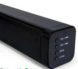 Caixa De Som Soundbar Bluetooth Entrada Auxiliar Rca 80w