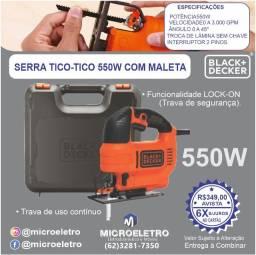 Título do anúncio: Serra Tico Tico  550W KS701PEK Black & Decker