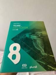 Livro de história PROJETO TELARIS HISTORIA 8.ANO