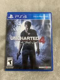 Título do anúncio: Jogo PS4 Uncharted 4